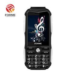 Điện thoại di động Forme D777 kiêm sạc dự phòng, màn hình 2.8inch, pin 5800mAh, Loa 3D to rõ, font chữ lớn - Phân phối chính hãng
