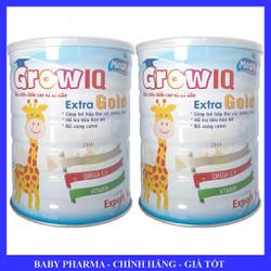 [Combo 2 lon] Sữa bột phát triển chiều cao - trí não IQ Extra Gold Export lon 900g