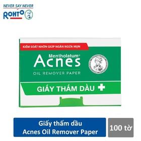Giấy thấm dầu ACNES 100 tờ - hgg