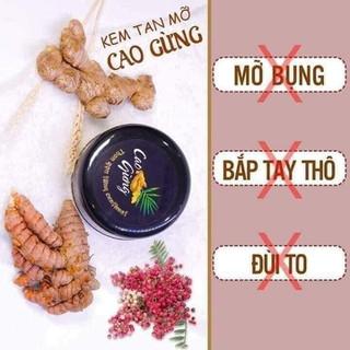 CAO GỪNG TAN MỠ - CAO GỪNG TAN MỠ thumbnail