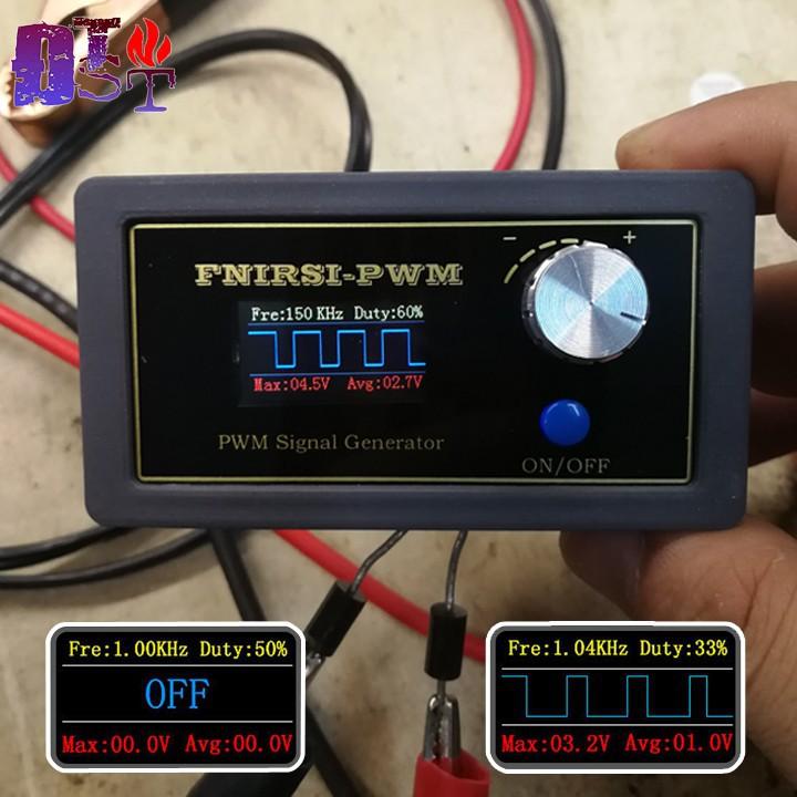 Máy phát xung vuông FNIRSI-PWM tần số 1Hz - 150KHz Đời mới nhất