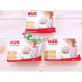 Khăn vải khô đa năng Nuk (80 chiếc) - Nuk80