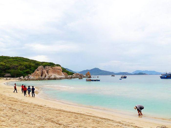 Bãi Kinh đảo Bình Hưng, một trong những bãi biển đẹp nhất Ninh Thuận!