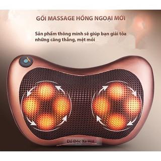 Gối massage 8 bi hồng ngoại cao cấp - Gối massage 8 bi thumbnail