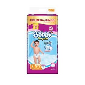 Tã Quần Bobby Gói Mega Jumbo L111, XL102, XXL93 - bobby