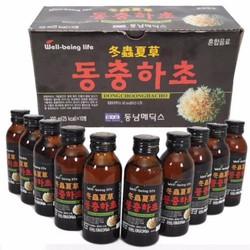 Hộp 10 chai Nước uống bổ dưỡng Đông Trùng Hạ Thảo
