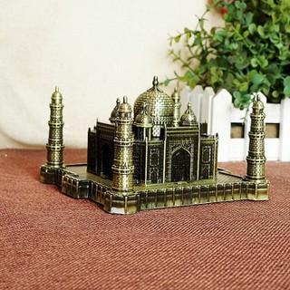 Mô hình lăng mộ Taj Mahah cao 6cm size trung - WINWINSHOP88 - Mô hình lăng mộ Taj Mahah cao 6cm vàng rêu thumbnail