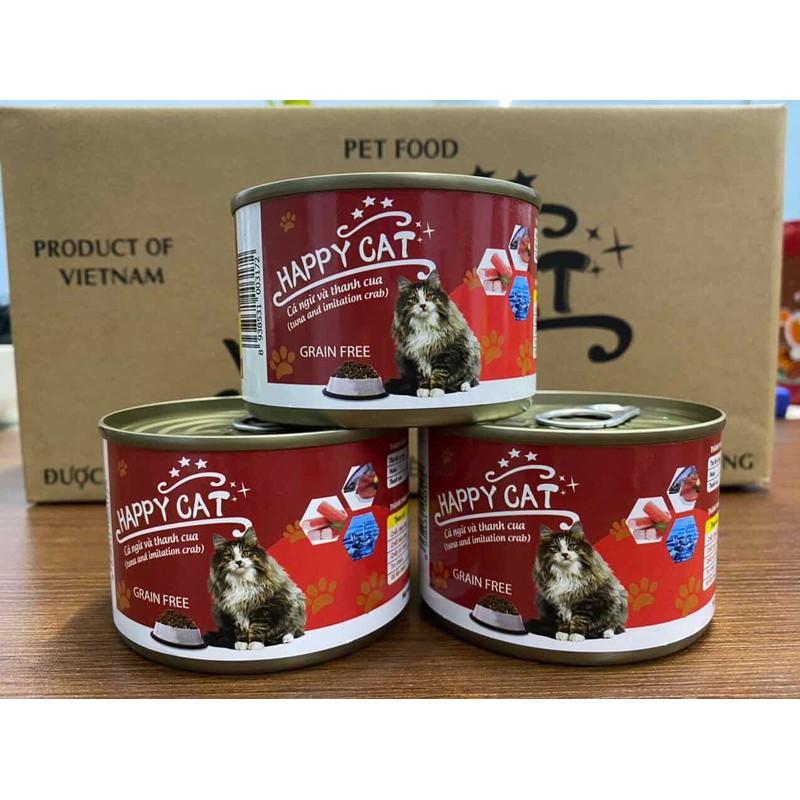 Pate Happy Cat lon to 160g cho mèo – 940