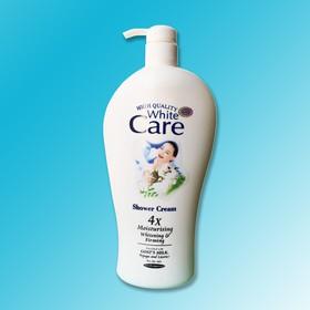 [ HƯƠNG THƠM QUYẾN RŨ - CHAI TO KHỔNG LỒ 1200ML ] Sữa Tắm Dê White Care Trắng mịn Cao Cấp, (Date: 02/2023) - ST 4x