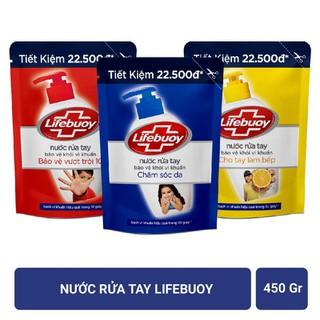 Nước rửa tay Lifebuoy (450g bịch) - 010 thumbnail