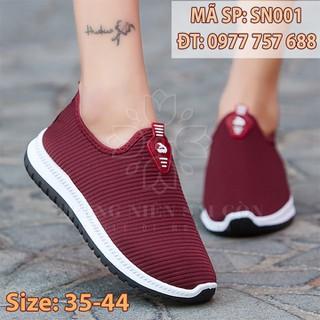 Giày thể thao ngoại cỡ giá rẻ giày đi bộ êm chân cho mẹ trung niên U50 U60 SN001 - SN001 thumbnail