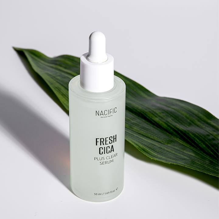 Tinh chất cho da mụn NACIFIC Fresh Cica Plus Clear Serum 50ml - NA_SE03