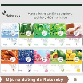 Mặt nạ dưỡng da Natureby Hàn Quốc - Combo 5 miếng - KOR005-05