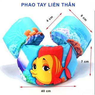 Phao bơi liền thân - Áo phao bơi liền thân cho bé đi biển - Bộ phao bơi cao cấp liền thân cho bé - PTLT-1 thumbnail
