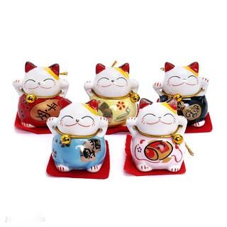 Bộ 5 Chú Mèo Thần Tài May Mắn - 4512 thumbnail