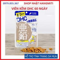 Viên uống bổ sung kẽm DHC Nhật Bản #trị mụn, giảm rụng tóc 60 ngày 60 viên