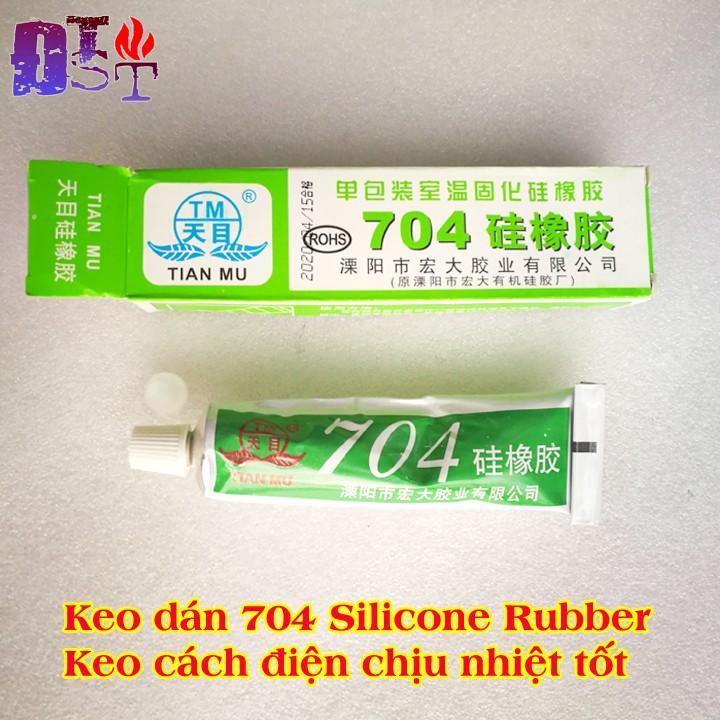 Keo dán silicone cách điện tản nhiệt Tian Mu 704