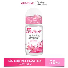 Lăn khử mùi trắng da Gervenne Pink Lily 50ml - 8935212806831_000