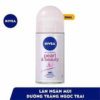 Lăn Khử Mùi Ngọc Trai quyến rũ Sáng Mịn Nivea 50ml hàng công ty - LKMNi90 thumbnail