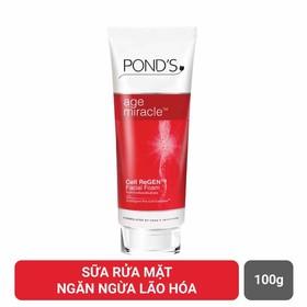 Sửa Rửa Mặt Ngăn Ngừa Lão Hóa Ponds 100g mẫu mới (hàng công ty ) - RM01