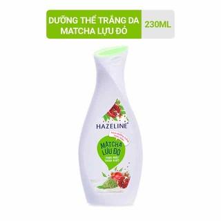 Sữa dưỡng thể dưỡng trắng Hazeline Matcha Lựu Đỏ 230ml - SDT01 thumbnail
