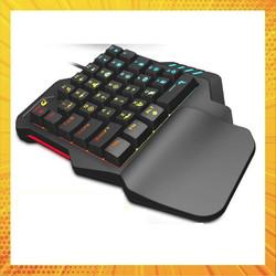 Bàn phím giả cơ FREE WOLF K1 chơi game Pubg Mobile, Rules of Survival, Free Fire trên điện thoại, máy tính bảng, Laptop và PC