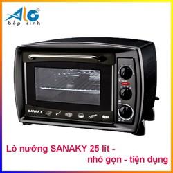 Lò nướng Sanaky VH-259S2D - 25 lít, màu đen  - Alo Bếp xinh