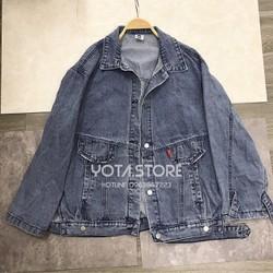 Áo khoác jeans to rộng - CV05