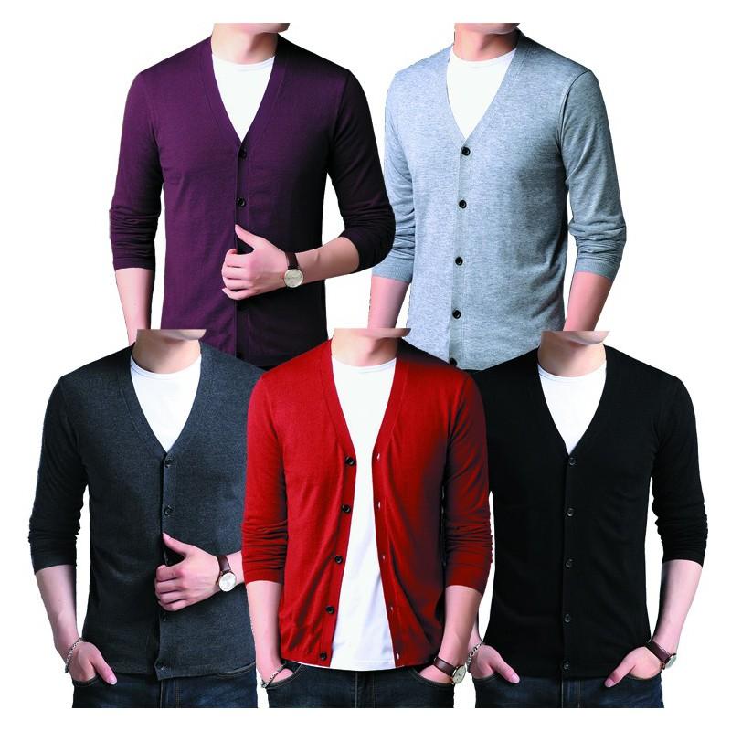 Áo khoác Cardigan Jacket Unisex SITAKI phong cách cao cấp CD01 – CD01