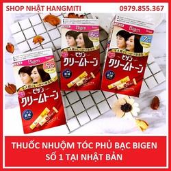 Thuốc nhuộm tóc phủ bạc BIGEN Nhật Bản - thuốc nhuộm bigen - nhuộm tóc Nhật