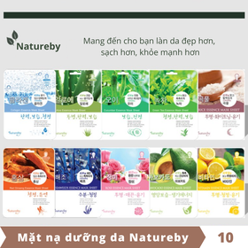 Mặt nạ dưỡng da Natureby - Combo 10 miếng - KOR005-10