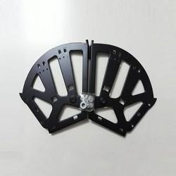 Bản lề tủ giày thông minh 3 ngăn thép sơn tĩnh điện siêu cứng (1 bộ / 2 cái)