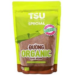 Đường nâu hữu cơ Organic của TTC Biên Hòa 500g (sản phẩm TSU Specia)