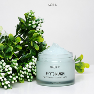 Mặt nạ ngủ dưỡng trắng da NACIFIC Phyto Niacin Whitening Sleeping Mask 50g TẶNG 10g - NA_SM01 thumbnail