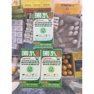 Enro 20% LA (20ml) - dùng trong thú y - BMG enro20% thumbnail