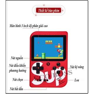 Máy Chơi Game Sup 400 Game In 1 Retro Kèm Tay Cầm Chơi Game 2 Người [ĐƯỢC KIỂM HÀNG] 31456226 - 31456226 thumbnail