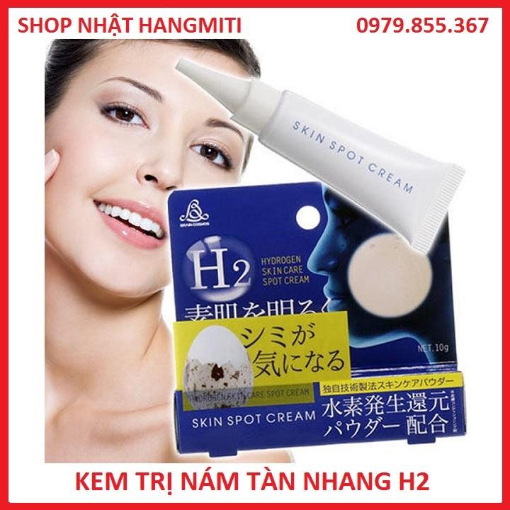 Kem trị nám tàn nhang H2 Hydrogen Skin Care Spot Nhật bản chính hãng