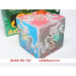 Rubik Gear 2x2x2 Hello Cube Transparent Trong Suốt