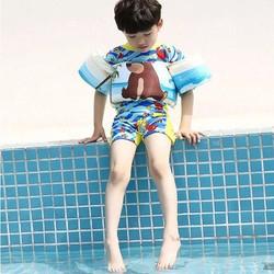 Ao Phao tay kèm thân  - phao tay kèm thân cho bé đi biển - Phao tay tập bơi cho bé