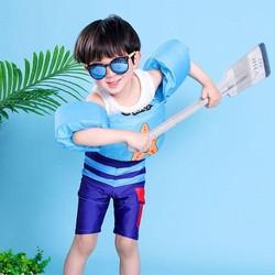 Ao Phao tay kèm thân  - phao tay kèm thân cho bé đi biển - Phao tay tập bơi cho bé [ĐƯỢC KIỂM HÀNG] 31733057