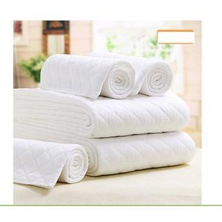 Tã 3 lớp sử dụng nhiều lần bằng vải cotton kích thước 45 16cm cho bé sơ sinh - tã xô thumbnail