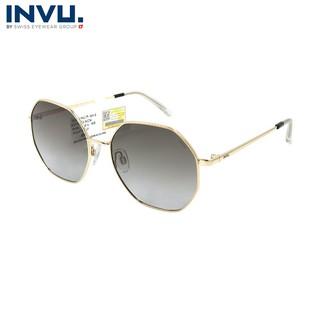 Kính mát nữ, kính mát unisex hiệu INVU chính hãng B1023 (54-17-147) - B1023 thumbnail