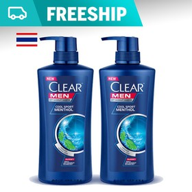 Combo 2 chai Dầu Gội Clear Men Nhập Khẩu Thailand - 450ml - DG000602