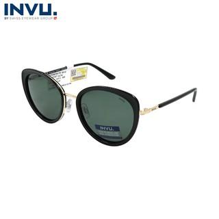 Kính mát nữ, kính mát unisex hiệu INVU chính hãng B1027 (55-20-140) - B1027 thumbnail