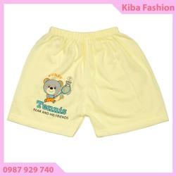 Combo 10 chiếc quần đùi RẺ ĐẸP cho bé từ 3-12kg - ảnh thật - QĐKR350 , quần đùi chục cho bé, quần áo sơ sinh