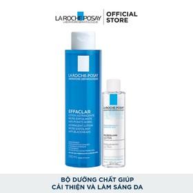 Bộ sản phẩm nước cân bằng giàu khoáng 200ml và nước tẩy trang La Roche-Posay Effaclar Toner 50ml - 8935274603140
