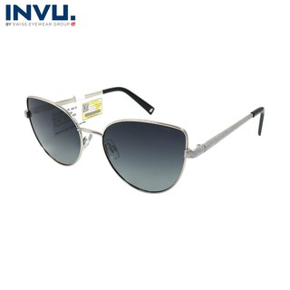 Kính mát nữ, kính mát unisex hiệu INVU chính hãng B1016 (58-17-145) - B1016 thumbnail