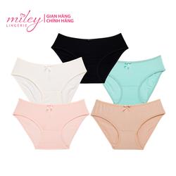 COMBO 5 quần lót nữ basic Comfort Modal MILEY LINGERIE- Màu ngẫu nhiên
