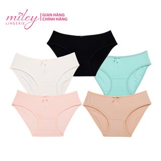 COMBO 5 quần lót nữ basic Comfort Modal MILEY LINGERIE- Màu ngẫu nhiên - BCS_0104_204_704_904_1204 thumbnail