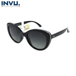 Kính mát nữ, kính mát unisex hiệu INVU chính hãng B2041 (53-20-143) - B2041 thumbnail